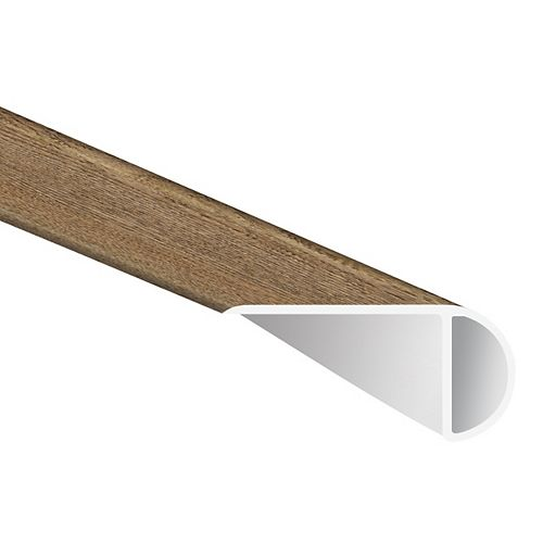 MSI Stone ULC Woodlett Century Oak 3/4 in. Thick x 1 3/4 in. Wide x 94 in. Length Luxury Vinyl Stair Nose Molding