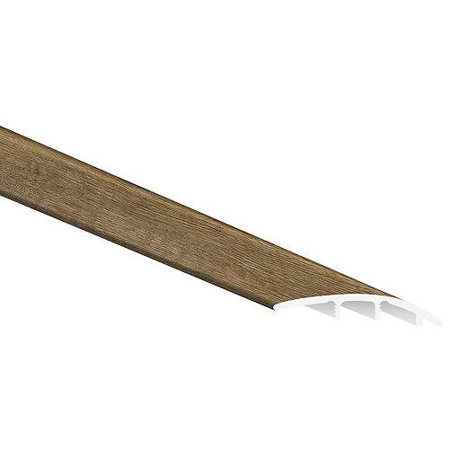 MSI Stone ULC Woodlett Heirloom Oak 1/3 in. Thick x 1 3/4 in. Wide x 94 in. Length Luxury Vinyl Reducer Molding