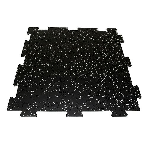 Titan 2 ft. X 2 ft. Recycled Rubber Tiles - Four Pack