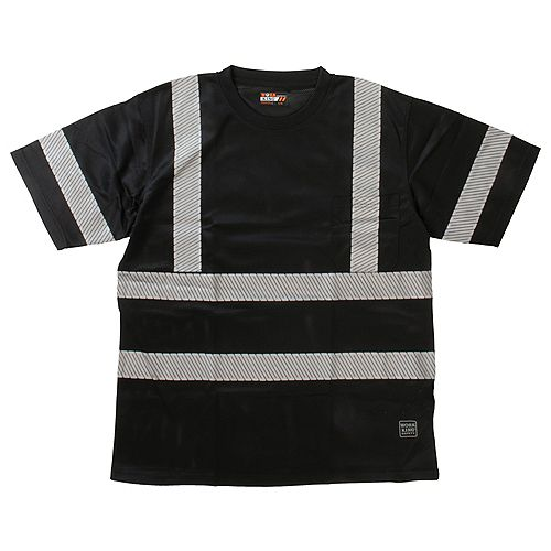 S/S Safety T-Shirt Blk L
