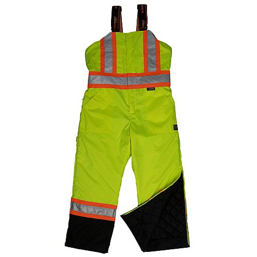 Lined Safety Overall Flgr 4Xl