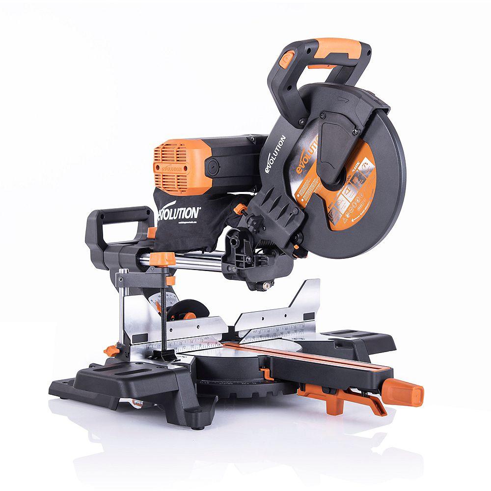 Evolution Power Tools 10 Inch Dual Bevel Sliding Miter Saw