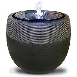 Angelo Décor fontaine Avante, 42 cm de haut, avec pompe et lumières DEL