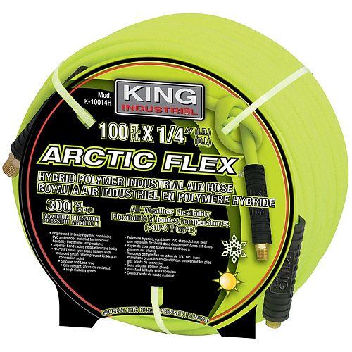 1/4 x 100 Hybrid Polymer Industrial Air Hose