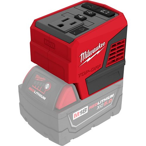 M18 18V Lithium-Ion 175-Watt Powered Compact Inverter for M18 Batteries (Tool-Only)