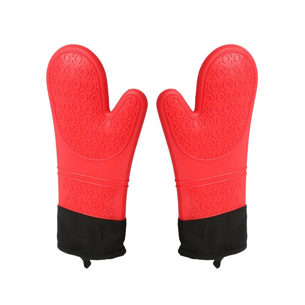 Stylish Heat Resistant Silicone Mitts