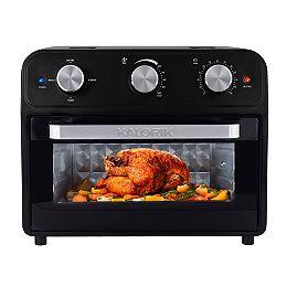 22 Quart Air Fryer Toaster Oven, Black
