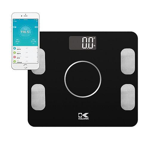 Kalorik  Smart Electronic Body Analysis Scale, Black