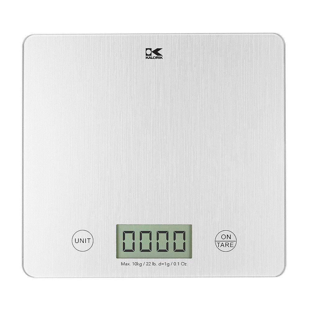 Kalorik Kalorik XL Silver Digital Kitchen Scale