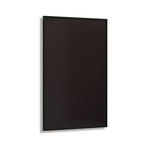 Infrared Panel Heater 600W Black