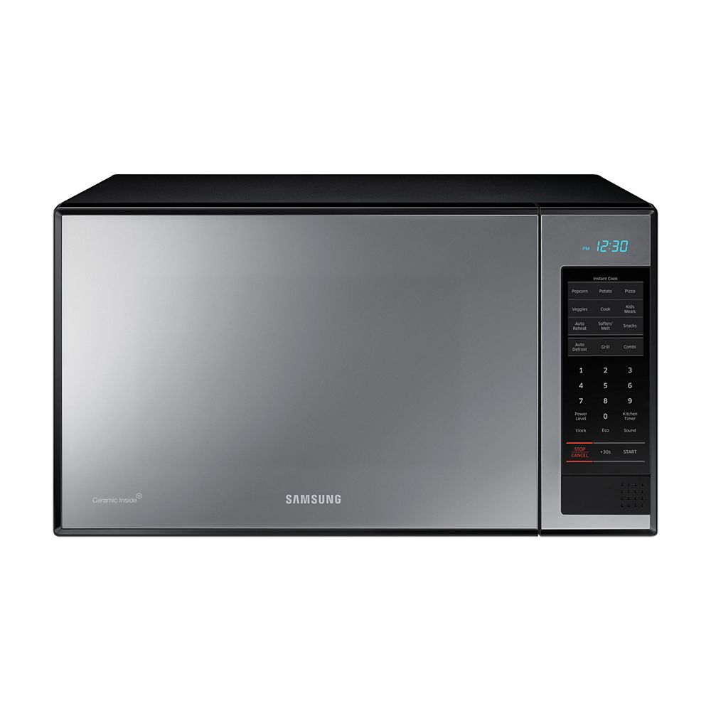 Samsung 1.4 cu. ft. Countertop Microwave with Grilling Element in Stainless Steel