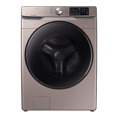 5.2 cu. ft. High-Efficiency Front Load Washer with Steam in Champagne - ENERGY STAR®