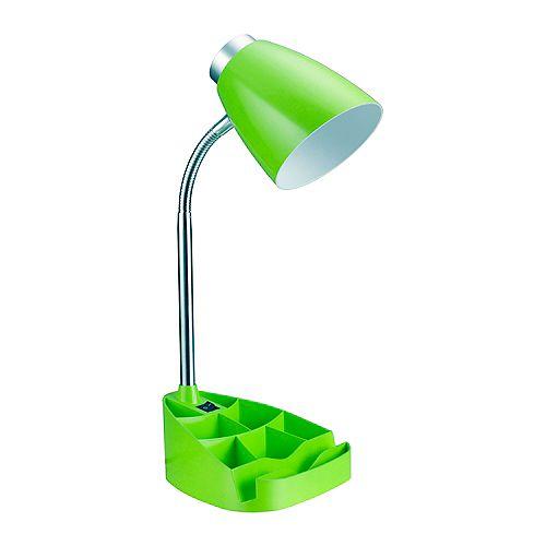 18.5 pouces vert Lampe de bureau organisateur