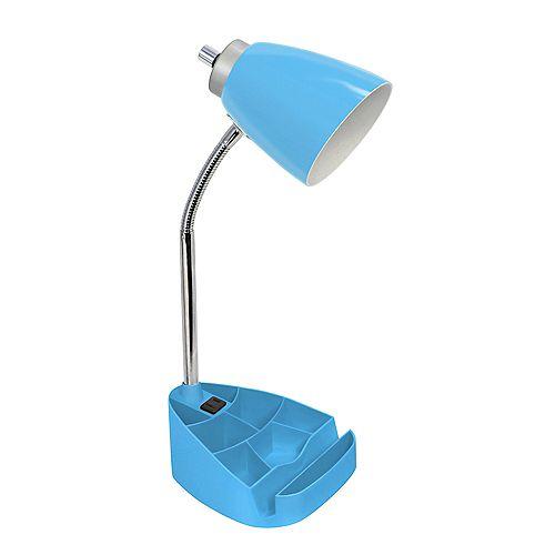 18.5 pouces bleu Lampe de bureau feux et prise de charge