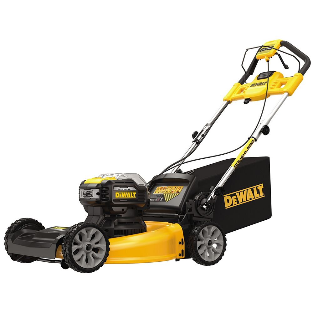 DEWALT 2x20V MAX Lithium Ion Cordless Brushless 21.5-inch Walk Behind Self Propelled Mower