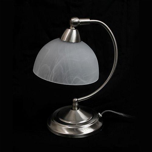 13 pouces Lampe de bureau de banquier Mini avec base de contrôle à gradateur tactile