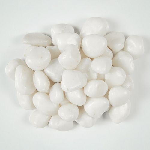 MSI Stone ULC 0.25 cu. ft. 3 cm to 5 cm Yukon Snow River Pebbles 20 lbs. Bag