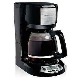 12 Cup Coffee Maker with Programmble Clock 49615C