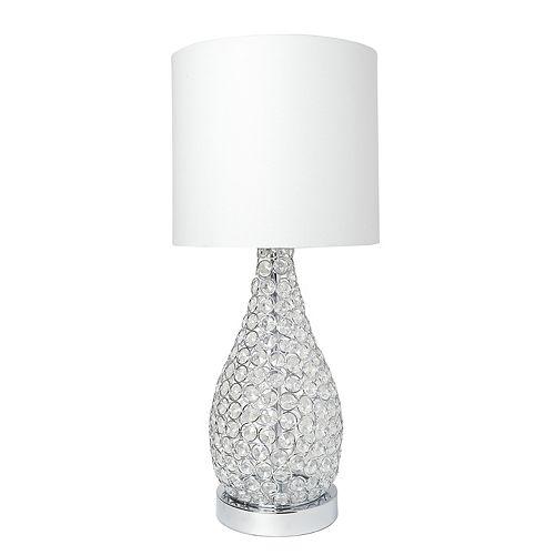22 pouces Chrome Lampe de table
