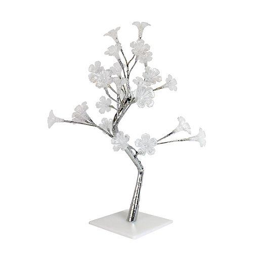 17.72 pounces Petit Arbre Décoratif Lumineux LED Gloire du Matin Blanc