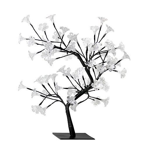 23.62 pounces Arbre lumineux décoratif à fleurs de cerisier LED