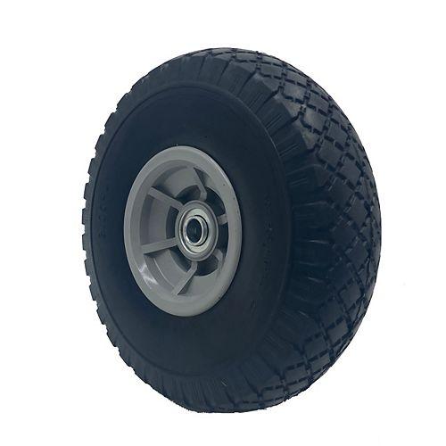 Flat-Free Replacement Wheelsfor Hand Trucks, 2-Pack