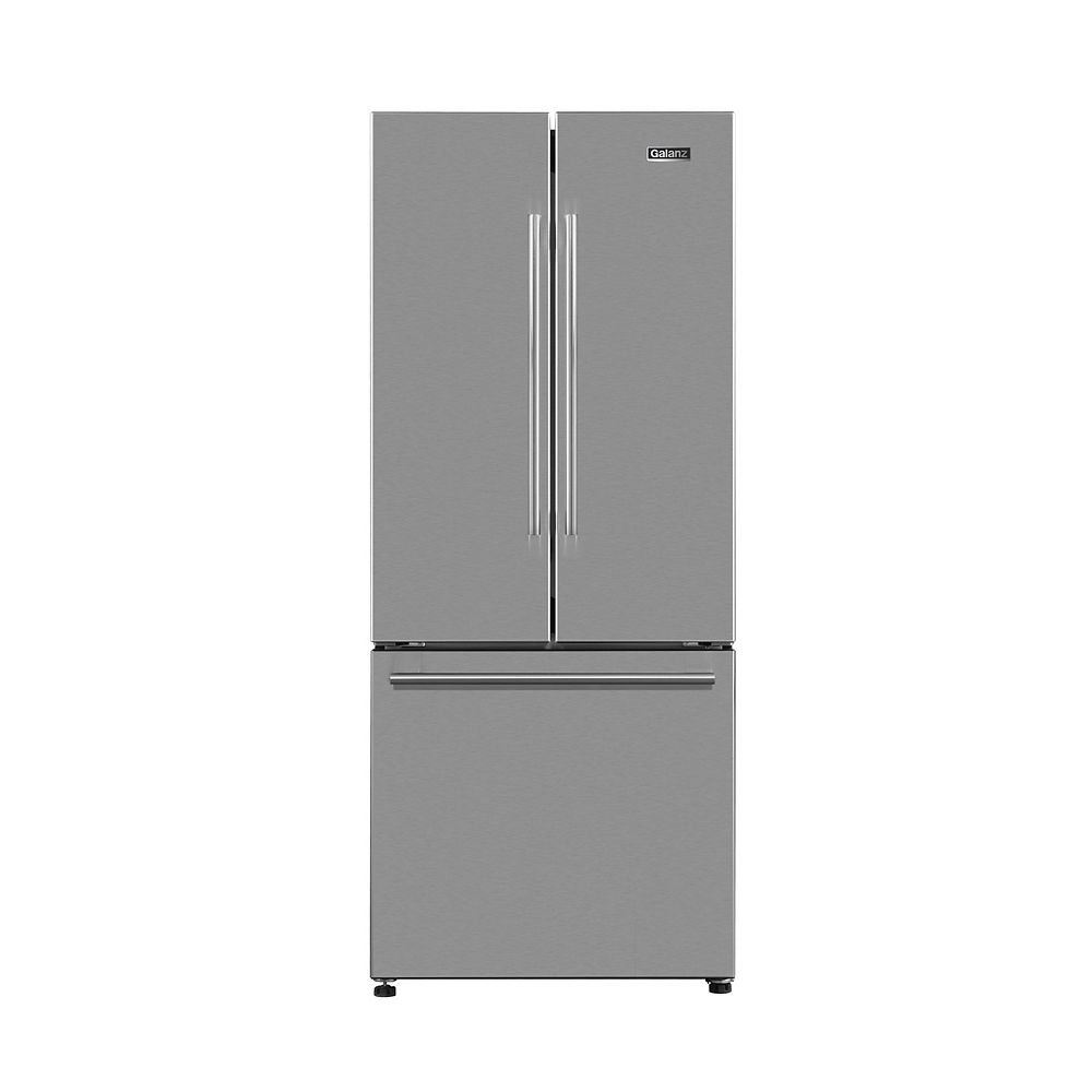 Galanz Galanz 29 French Door Refrigerator, 16 cu.ft., Stainless Steel