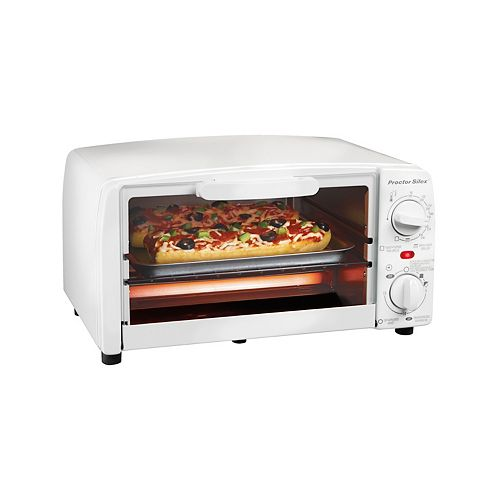 Toaster Oven Broiler, White, 31116R