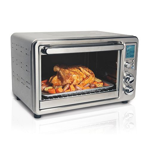 Digital & Convection Toaster Oven with Rotisserie, 6 Slice Capacity, Stainless Steel, 31190C