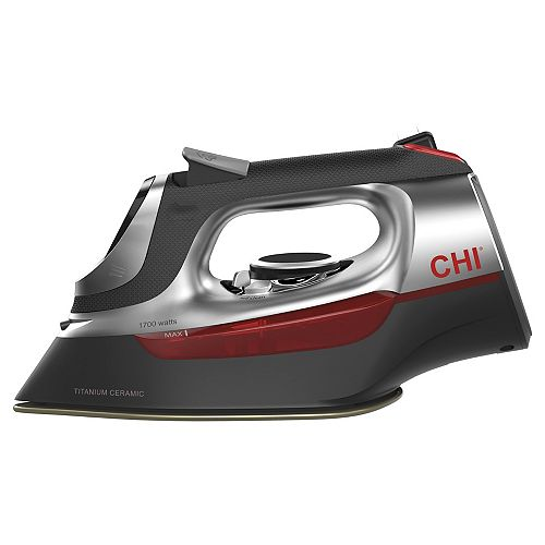 Electronic Clothing Iron with Retractable Cord 13102