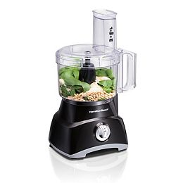 8 Cup Food Processor and Vegetable Chopper, Black 70740