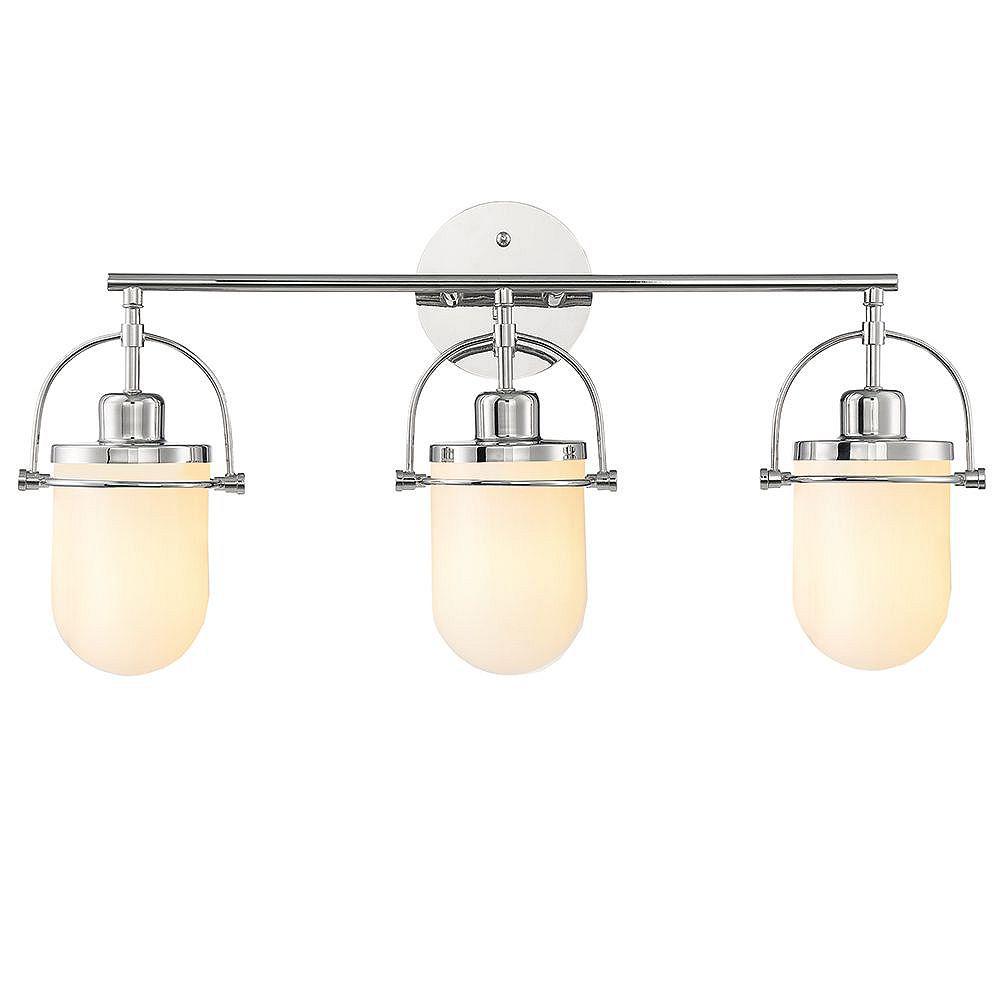Glucksteinelements Lowell 3 Light, Home Depot Canada Bathroom Vanity Lights