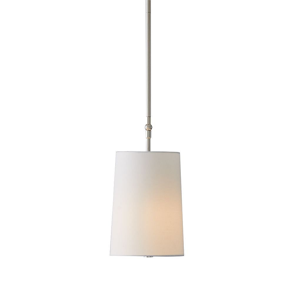 GlucksteinElements Dorset 1-Light Pendant - Polished Nickel