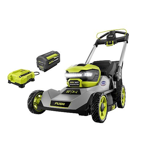 40V HP Brushless Cordless 21-inch Walk-Behind Lawn Mower Kit with 7.5 Ah Battery and Charger