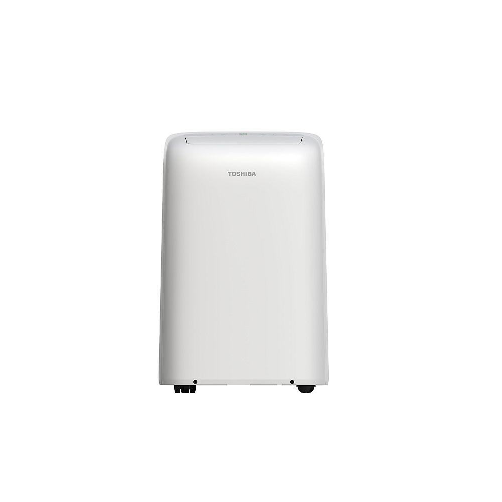 Toshiba 12,000 BTU (8,000 BTU - SACC) 115V Portable Air Conditioner and Dehumidifier with WI-FI SMART