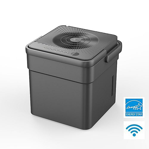 50 Pint Dehumidifier with Continuous Operation Function-MOST EFFICIENT ENERGY STAR® WITH PUMP