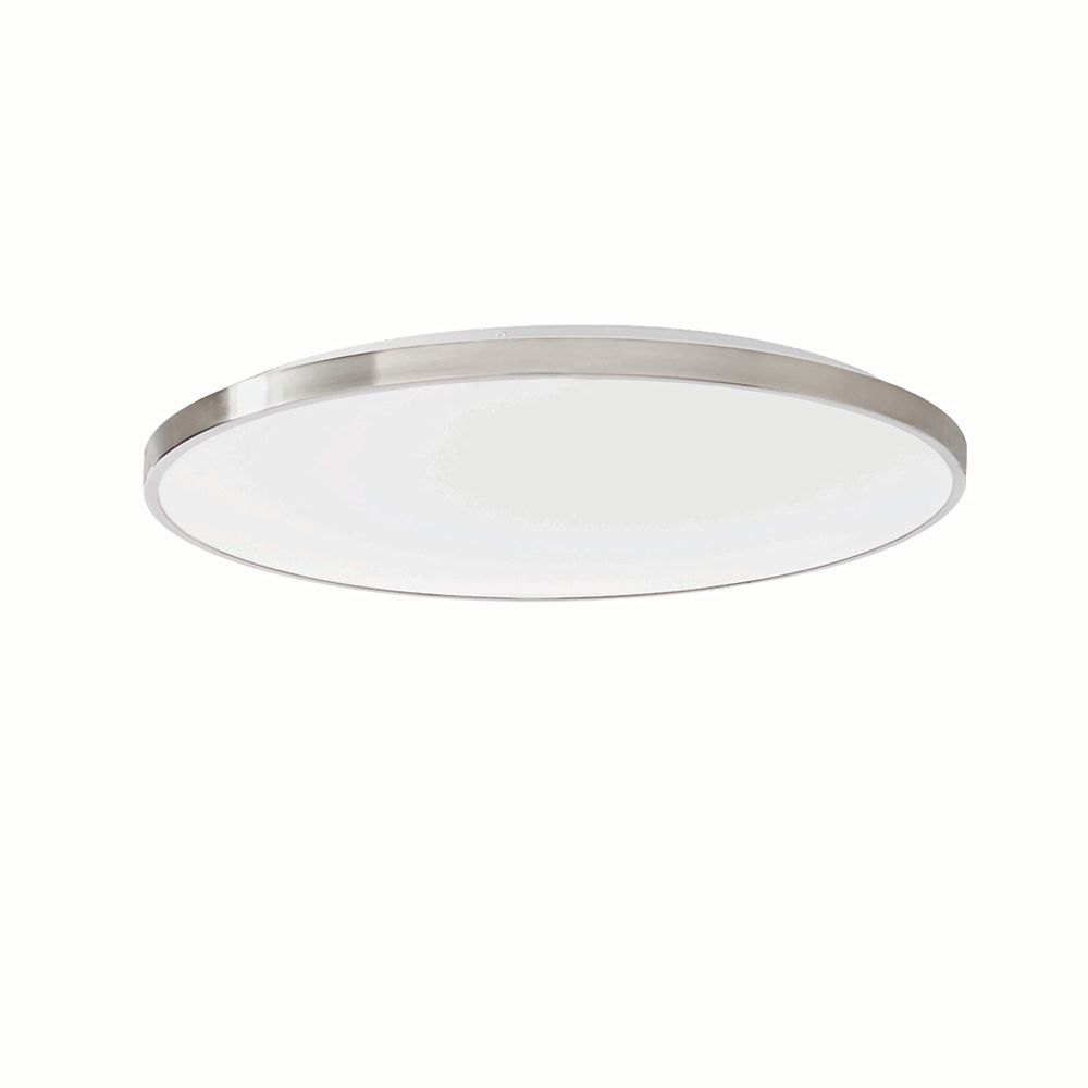 Home Decorators Collection 21 inch LED flushmount Brushed Nickel