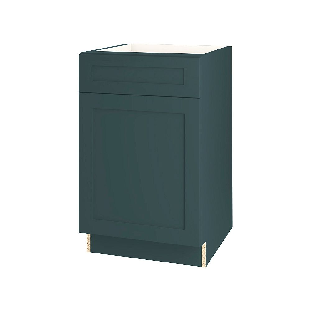 Thomasville NOUVEAU Rhett Lagoon Assembled Base Cabinet with Drawer 21 inches Wide