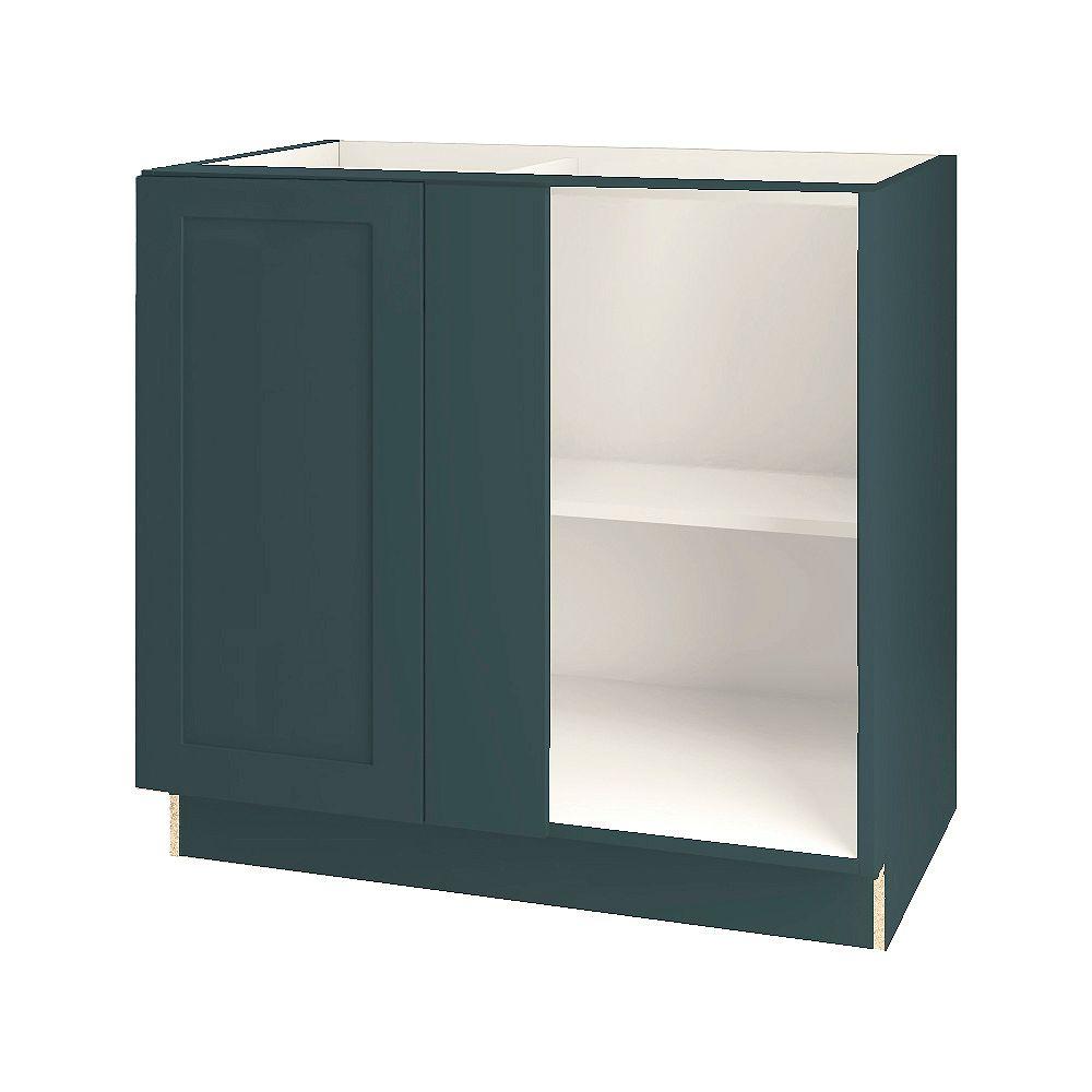 Thomasville NOUVEAU Rhett Lagoon Assembled Corner Blind Base Cabinet 36 inches Wide