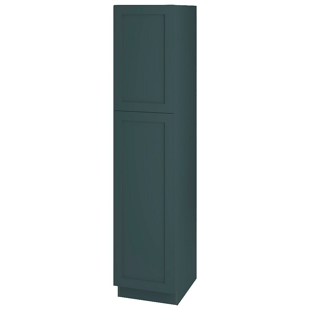 Thomasville NOUVEAU Rhett Lagoon Assembled Pantry Cabinet 18 inches Wide x 84 inches High