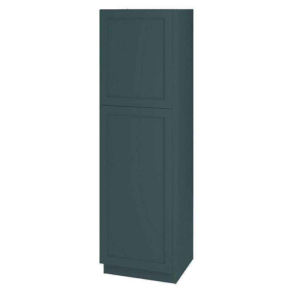 Thomasville NOUVEAU Rhett Lagoon Assembled Pantry Cabinet 24 inches Wide x 84 inches High