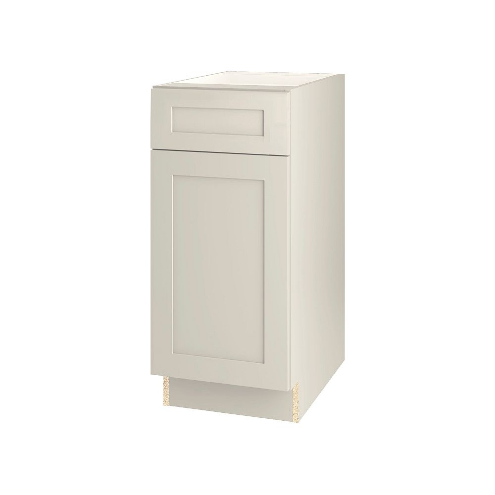 Thomasville NOUVEAU Rhett Mortar Assembled Base Cabinet with Drawer 15 inches Wide
