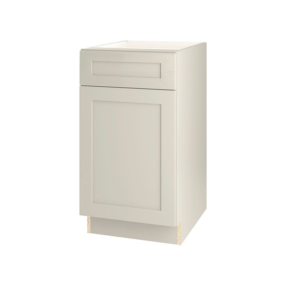 Thomasville Nouveau NOUVEAU Rhett Mortar Assembled Base Cabinet with Drawer 18 inches Wide