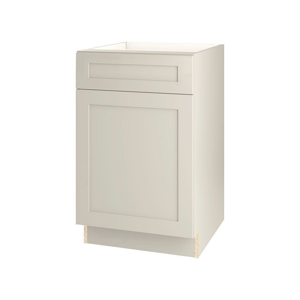Thomasville NOUVEAU Rhett Mortar Assembled Base Cabinet with Drawer 21 inches Wide