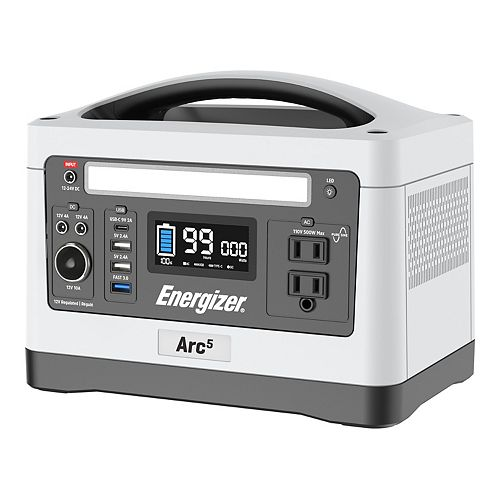 Arc5 Lithium-ion 550Wh, 500W Portable Power Station