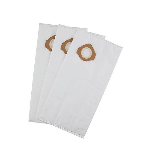 3 Pk Sacs à poussière en polaire