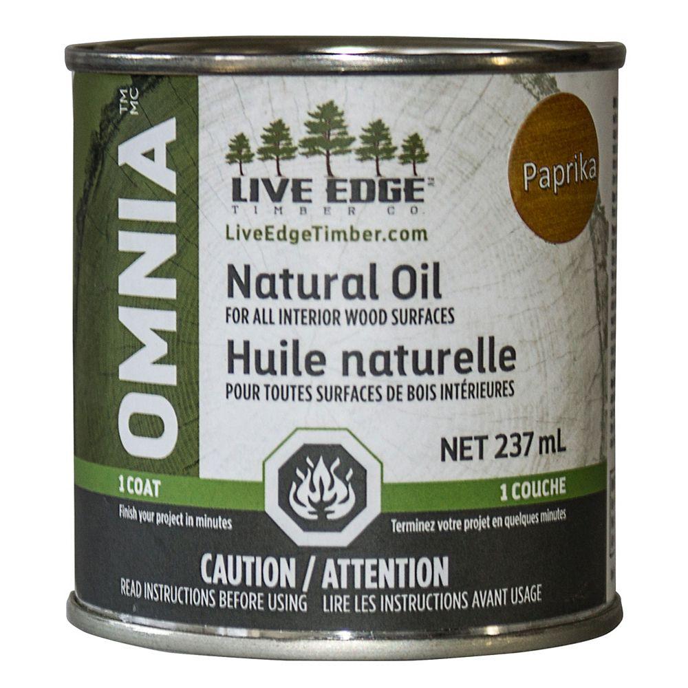 Live Edge Timber Co. Omnia Huile Naturel - Paprika