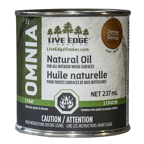 Omnia Huile Naturel - Sienne