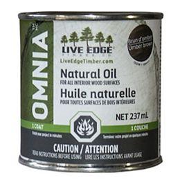 Omnia Huile Naturel - Brun d'ombre