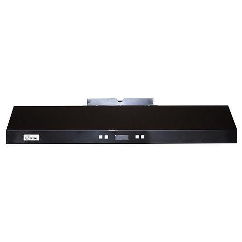 Swift II Electronic Under Cabinet Range Hood 30-in Black